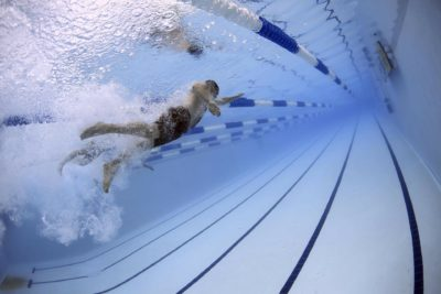swimming in swimming pool orthopedic injury prevention